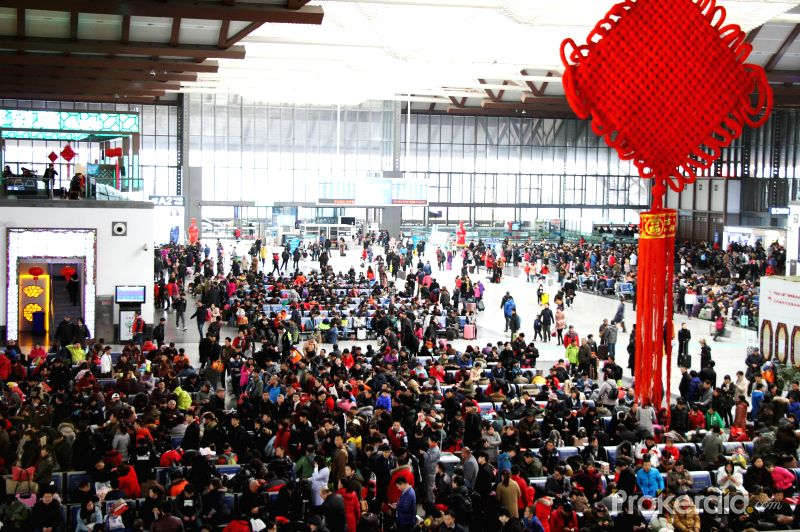 Chinese Spring Festival Travel